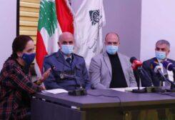 الوزير حسن وإيمان الشنقيطي والعميد حنا