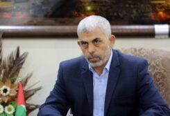 رئيس حركة حماس في غزة يحيى السنوار