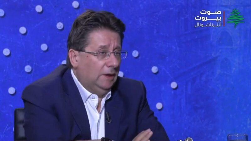 رئيس لجنة المال النيابية النائب ابراهيم كنعان
