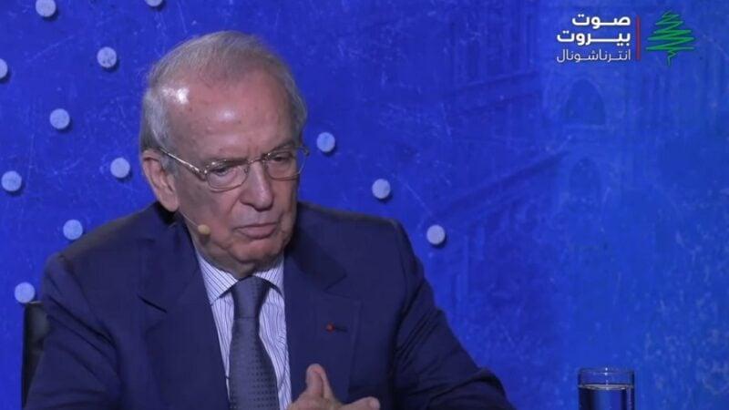 النائب والوزير السابق مروان حماده
