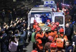 عملية إنقاذ في أحد المناجم الصينية -أرشيفية