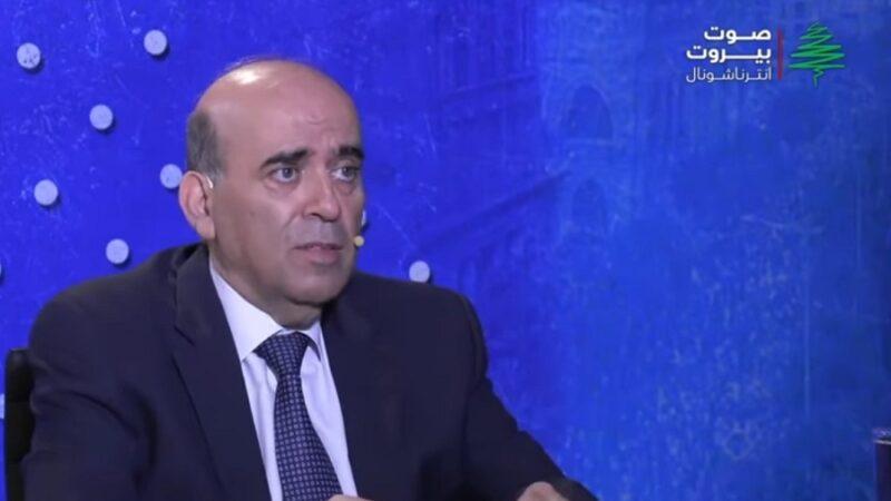 وزير الخارجية في حكومة تصريف الأعمال شربل وهبة