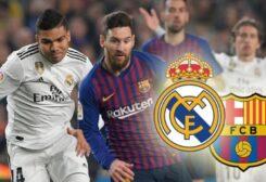 كلاسيكو مرتقب بين برشلونة وريال مدريد في شهر إبريل