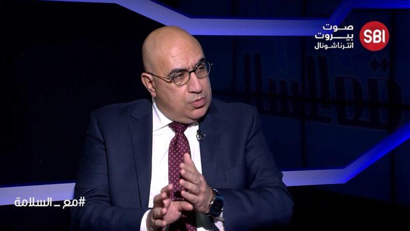 مسؤول جهاز الإعلام والتواصل في القوات اللبنانية شارل جبور
