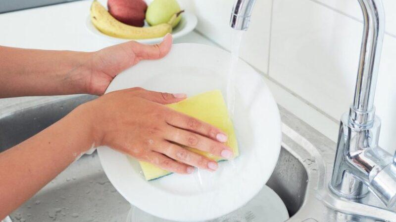 غسل الاواني