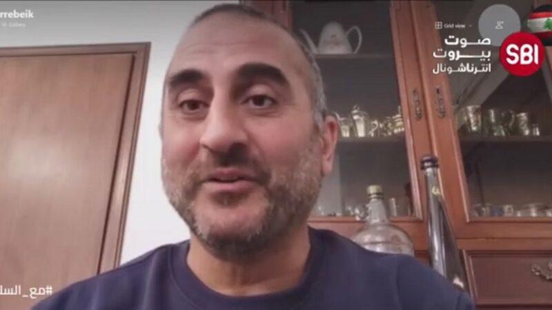 الناشط بيار حشاش
