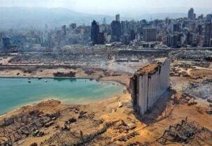 أضرار انفجار مرفأ بيروت
