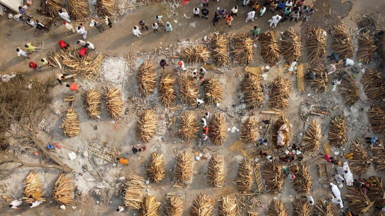 الهند تسجل ارتفاعاً قياسياً في عدد إصابات كورونا
