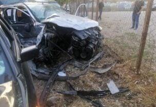 حادث مروري على طريق النبطية الفوقا