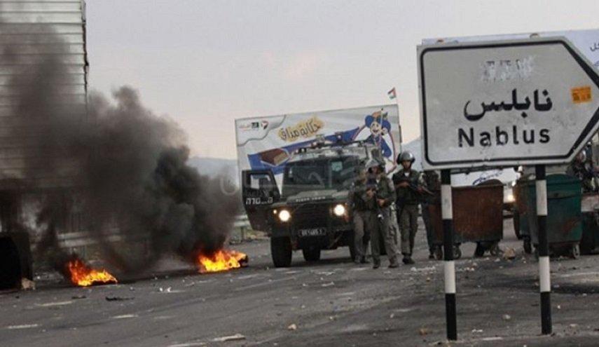 مواجهات في نابلس وإصابات برصاص جيش الإحتلال الإسرائيلي