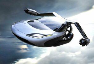 سيارة طائرة- تعبيرية